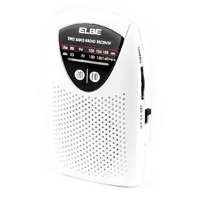 Radio Elbe Rf50 Mini Bolsillo Blanca