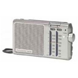 Radio Portatil Panasonic Rf-U160eg9-S Pilas