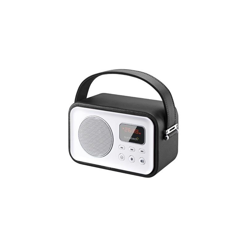 Radio Portatil Sunstech Rpbt450or Retro Negra