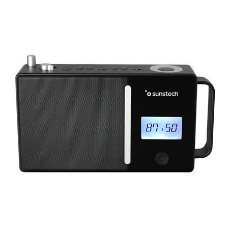 Radio Portatil Sunstech Rpds500bk Bluetooth Usb Negra