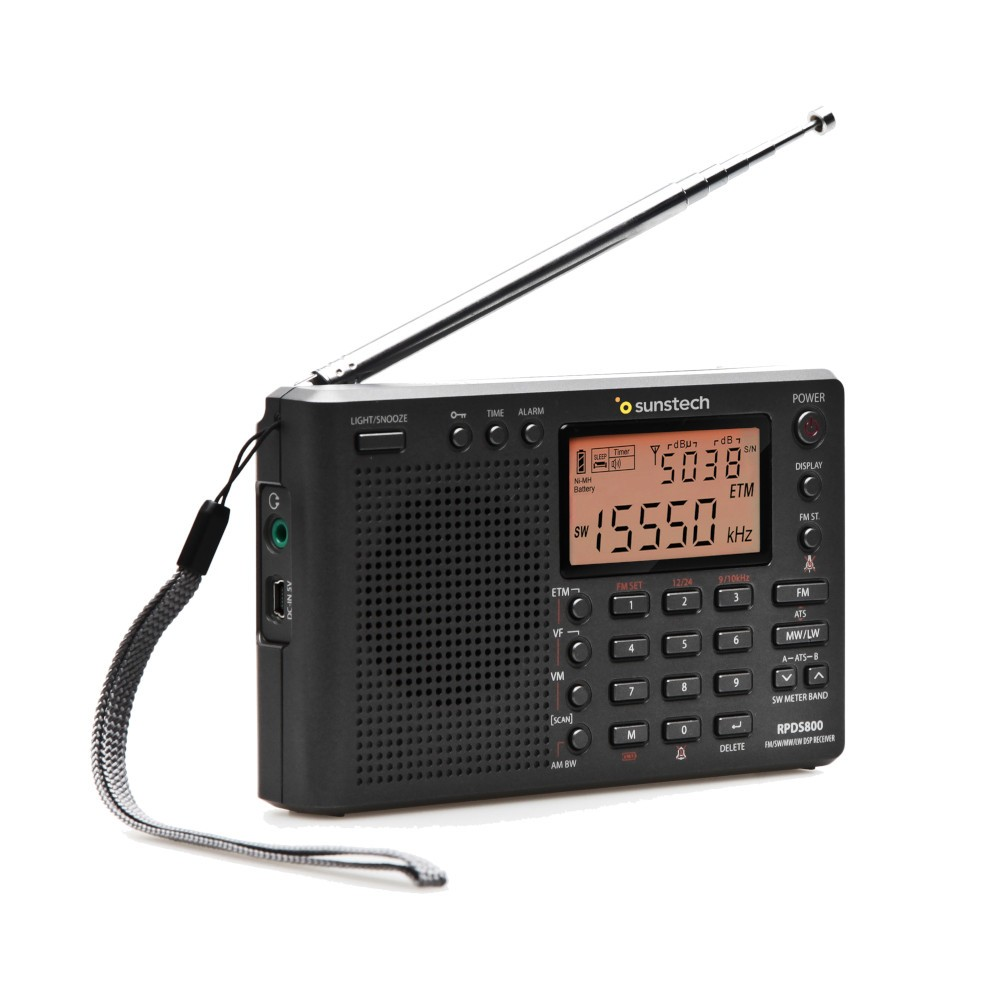 Radio Portatil Digital Sunstech Rpds800 Titanium