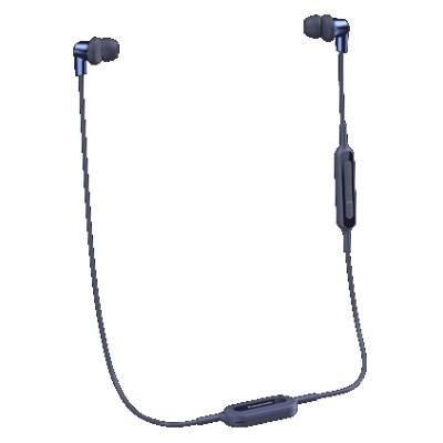 Auriculares Boton Panasonic Rp-Nj300be-A Azul