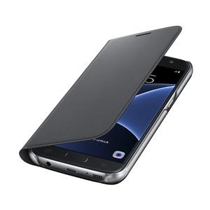 Funda Samsung Flip Wallet Galaxy S7 Negra