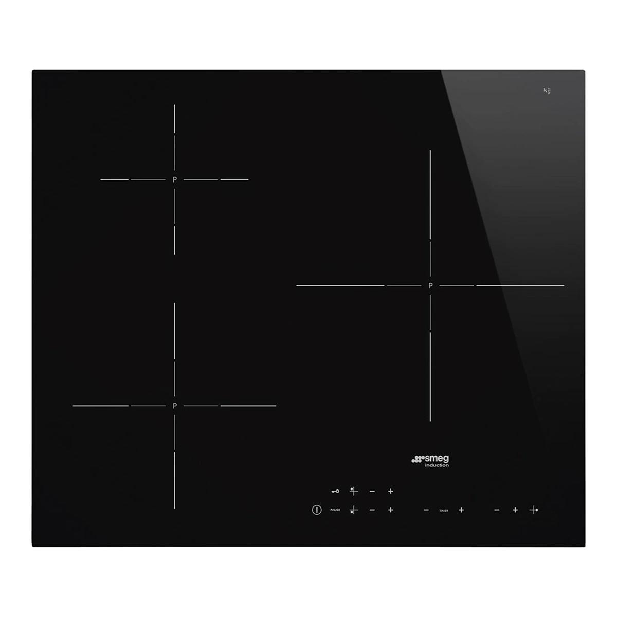 Placa Induccion Smeg Si5632d 3f 60cm Negra