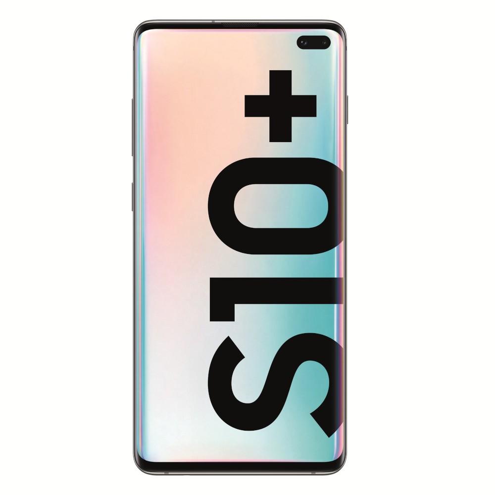 "Movil Samsung Galaxy S10+ 6.4"" 1tb 12gb + Microsd 5 Camaras Ceramic White"