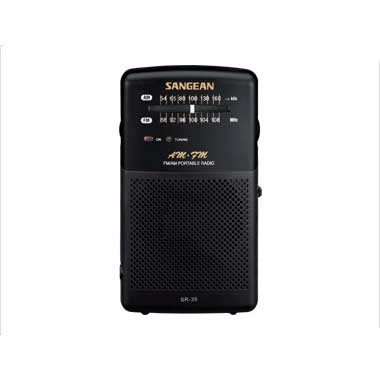 Radio Transistor Am-Fm Analogico Sangean Sr-35