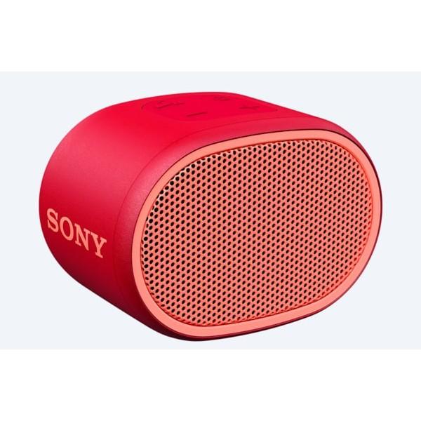 Altavoz Portatil Sony Srs-Xb01r Extra Bass Bluetooth Rojo