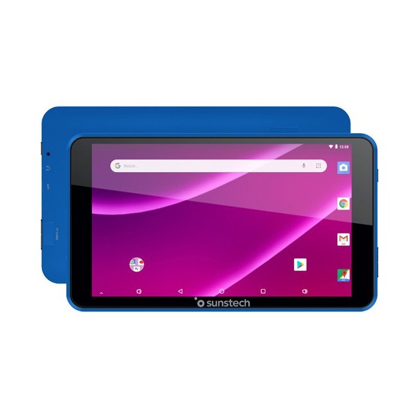 "Tablet 7"" Sunstech Tab781bl 8gb Quad Core Azul"