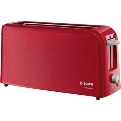 Tostador Bosch Tat3a004 1 Ranura Larga Rojo