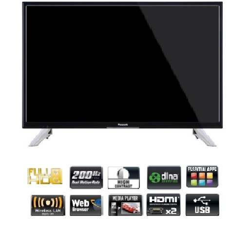 Tv 32 Panasonic Tx-32ds352e Hd Ready Smart Wifi
