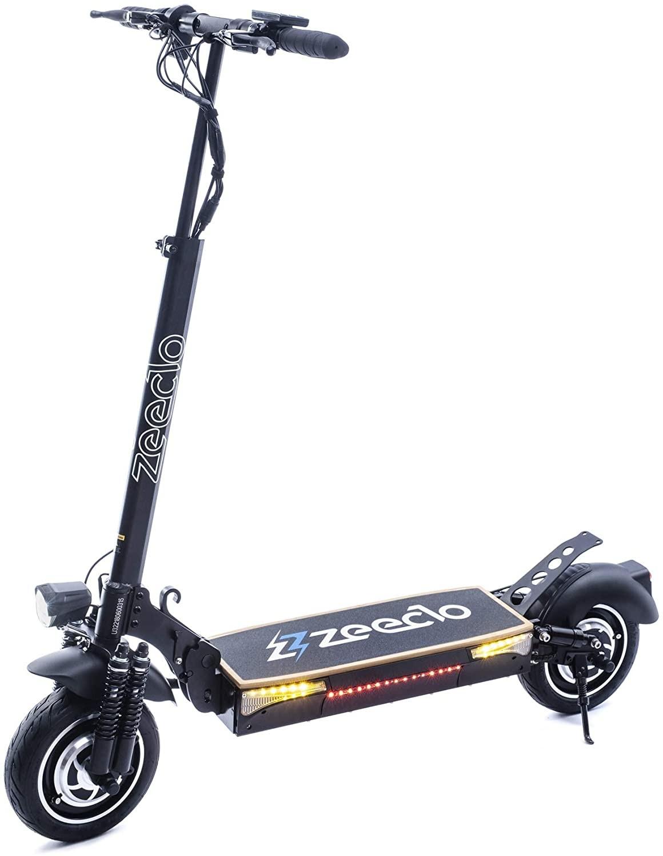 "Patinete Electrico 10"" Zeeclo Fenix Dual 1000w"