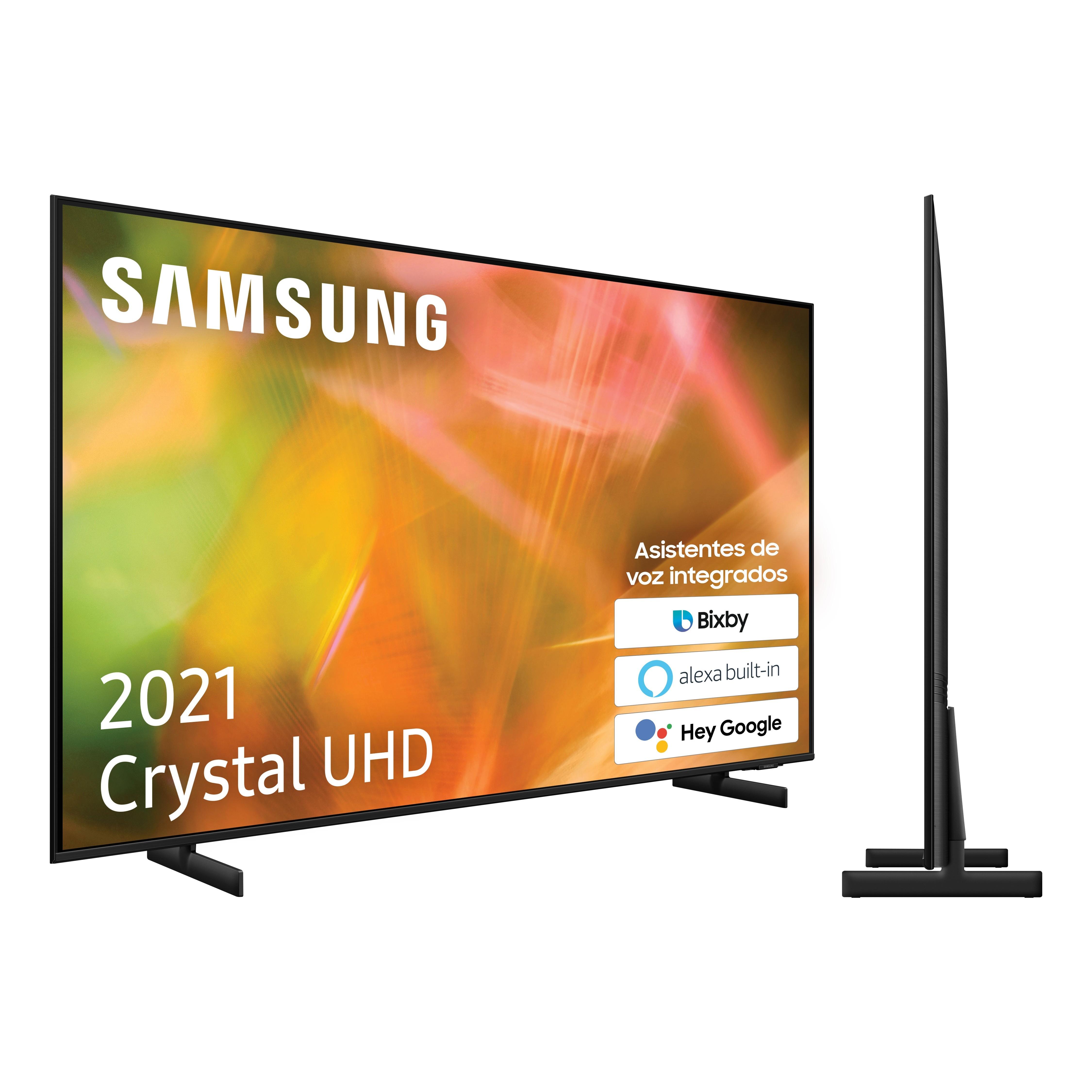 Tv 85 Samsung Ue85au8005kxxc Cristal Uhd 4k Hdr10+ 2200 Pqi (G)