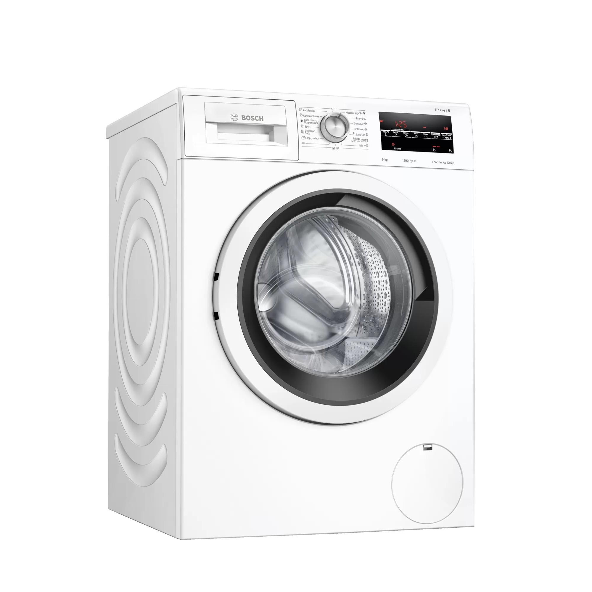 Lavadora Bosch Wau24t43es 9kg 1200rpm Blanca A+++(-30%)
