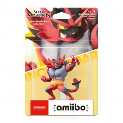 Amiibo Incineroar Nintendo (Coleccion Super Smash Bros)