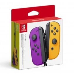 Mando Nintendo Joy-Con (Set Izquierda/Derecha) Morado Neon / Naranja Neon