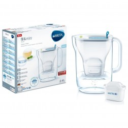 Jarra Agua Brita Style Azul 2,4l + 1 Filtro Maxtra+
