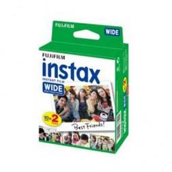 Película Fujifilm Instax Wide Glossy Pack 2*10