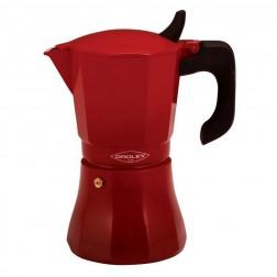 Cafetera Fuego Oroley Petra 9t Induccion Roja