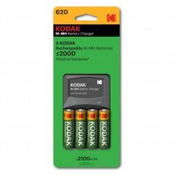 Cargador Pila Kodak 620e Para Aa/Aaa 4x2100mah