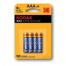 Pila Alcalina Kodak Max Aaa Lr3 (4un)