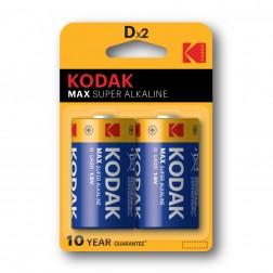 Pila Alcalina Kodak Max D Lr20 (2un)