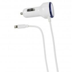 Cargador Coche Vivanco Lightning Iphone 1a Blanco