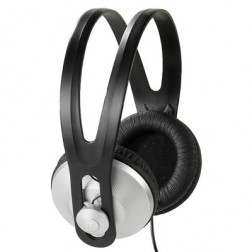Auricular Didadema Vivanco Sr97 1.8m Cable Negro