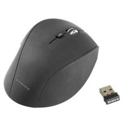 Raton Vivanco Usb Optic Wireless 1600dpi Negro