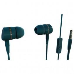 Auriculares Boton Vivanco 38011 Microfono Verde