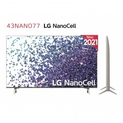 Tv 43 Lg 43nano776pa 4k Nanocell Hdr10 Procesador De Imagen 4k Quad Core (G