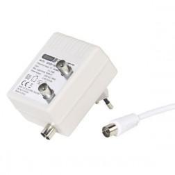 Amplificador Antena Vivanco 2x1 15db Blanco