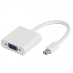 Adaptador Vivanco Mini Display Vga 10cm Especial Apple