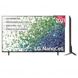 Tv 50 Lg 50nano806pa Nanocell 4k Hdr10 Procesador De Imagen 4k Quad Core (F