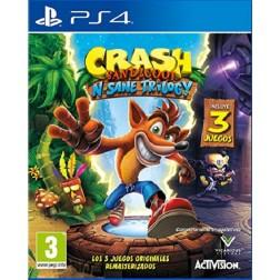 Juego Ps4 Crash Bandicoot: N. Sane Trilogy