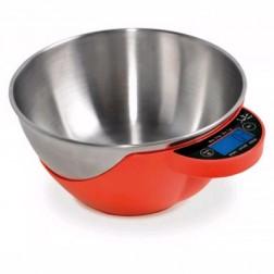Balanza Cocina Jata Hogar 765v Roja 5kg Multifunci