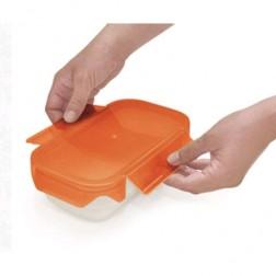 Contenedor Lunchbox Iris Easy Open 0,6l Naranja