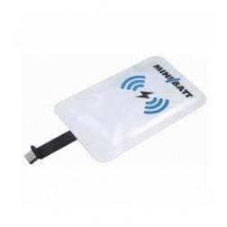 Adaptador Carga Inalámbrica Minibatt Mb-Card-Usb A