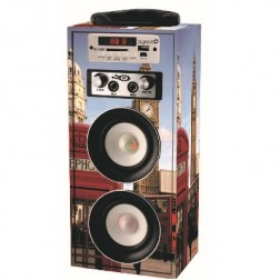 Altavoz Karaoke + Bluetooth Digivolt Hifi-16 Big B