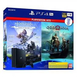 Consola Sony Ps4 Pro 1tb + God Of War + Horizon Zero Dawn