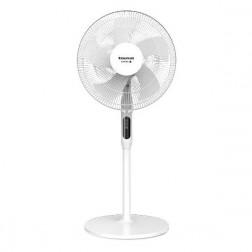 Ventilador Pie Taurus Ice Brise 40cm 50w Temporizador Control Remoto Blanco