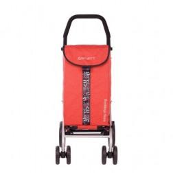 Carro Compra Carlett Lett450-6 Rojo 4 Ruedas