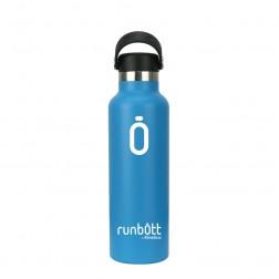Botella Termo Runbott Sport 600ml Azul
