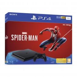 Consola Sony Ps4 1tb Marvel Spiderman Negra
