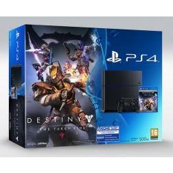 Consola Sony Ps4 500gb Negra + Destiny
