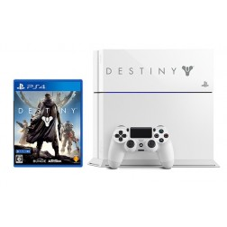 Consola Sony Ps4 500gb Blanca + V.E. Destiny