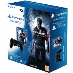 Juego Ps4 Uncharted 4 + Dual Shock