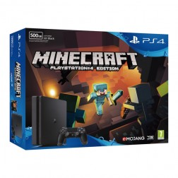 Consola Sony Ps4 500gb + Minecraft