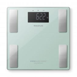 Bascula Baño Taurus Syncro Glass Complet Body Fat 180kg Verde