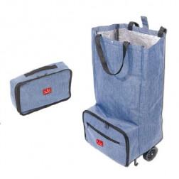 Bolsa Trolley Plegable Jata Hogar 994 Azul