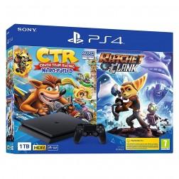 Consola Sony Ps4 1tb + Crash Team Racing + Ratchet & Clanck